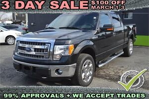 """2013 Ford F-150 4WD SuperCrew 145"""" XLT with LEATHER SEATS"""
