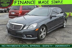 2010 Mercedes-Benz E-Class E350 Sedan 4MATIC - LEATHER - SUNROOF