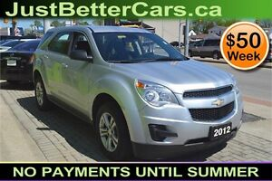 2012 Chevrolet Equinox LS, OWN for $50 Weekly, Immediate Finance
