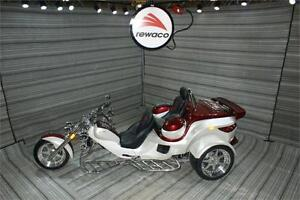 2017 REWACO RF2 LT-2 TOURBACK TURBO AUTOMATIC TRIKE