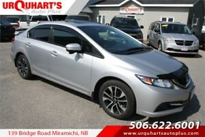 2014 Honda Civic Sedan EX! SUNROOF! HEATED SEATS!