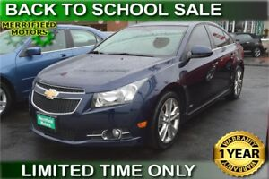 2011 Chevrolet Cruze LTZ - LOW PAYMENTS OF $54 a week