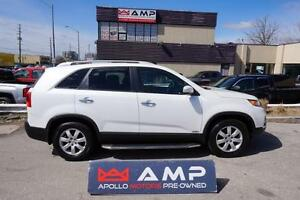 2012 Kia Sorento LX FWD 4cyl 2.4l Automatic SUV  Boards Blutooth