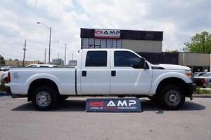 2011 Ford Super Duty F-250 SRW GAS 6.2 AUTO6SPEED 4X4 SHORT BOX.