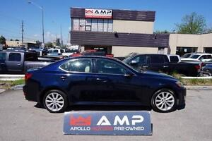 2009 Lexus IS 250 AWD Navigation Tech PKG Leather Sunroof 4cyl!