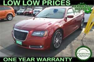 2012 Chrysler 300 S, 12 MONTH WARRANTY, Sunroof, Leather Seats
