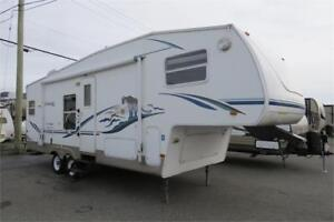 2003 COUGAR 278RKS 5TH WHEEL
