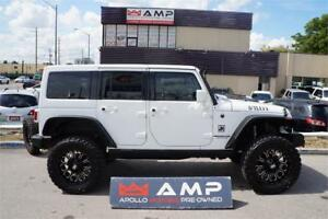 2011 Jeep Wrangler WOW! LIFTED,SUPER CAGE LEATHER FOX AIR SHOCKS