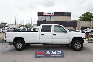 2007 GMC Sierra 3500 VERY Clean SLE DURAMAX DIESEL CREW LONG BOX