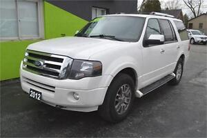 2012 Ford Expedition Limited 4WD, Leather - Sunroof - Loaded