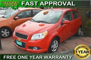 2011 Chevrolet Aveo LS - ONE YEAR WARRANTY!