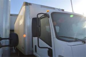 2016  Isuzu NPR HD DSL REG AT 16' Minoru Box With Gate