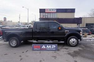 2008 Ford Super Duty F-450 DRW Lariat 4x4 DIESEL LEATHER DUALLY.