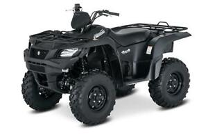 2018 SUZUKI 750 KINGQUAD FULLY LOADED SPECIAL EDITION MODEL