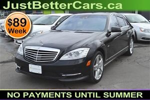 2012 Mercedes-Benz S-Class S550 4-MATIC, OWN for $89 Weekly