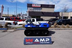 2017 ARGO FRONTIER S-LINE BLUE 6X6 With $4000.00+ accessories