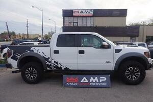 2012 Ford F-150 SVT Raptor CREW NAVI 6.2L SUPER CLEAN  NEW TIRES