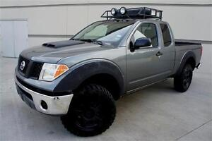 CUTOM-LIFTED-05-NISSAN-FRONTIER-NAVIGATION-ROOF-BASKET-DRIVING-LIGHT-BLUETOOTH