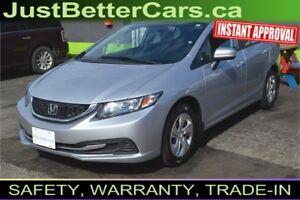 2014 Honda Civic LX, Drive for $59 per Week, Quick Reply!