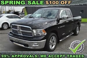 "2012 Dodge RAM 1500 4WD Quad Cab 140.5"" Big Horn, CENTER CONSOLE"