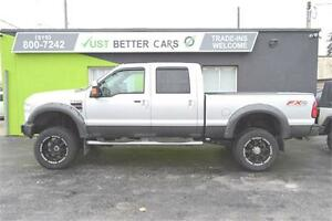 2008 Ford F-350 SUPER DUTY FX4 Crew Cab Long Bed with LEATHER