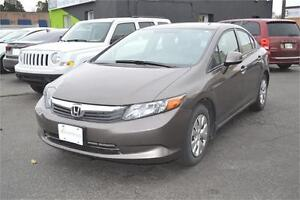 2012 Honda Civic LX - MADE IN CANADA - ONLY $55 a week