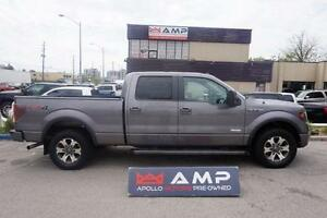 2014 Ford F-150 FX4 Lariat Navi Leather 5.5ft box 3.5l echoboost