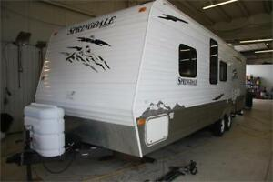 2008 Keystone Springdale 28ft Bunk Model