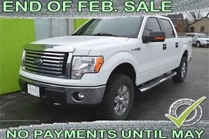 2012 Ford F-150 XLT SuperCrew 5.5-ft. Bed 4WD with Leather Seats