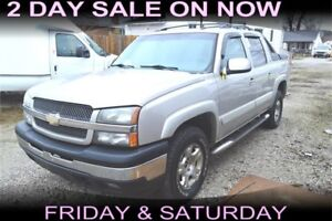 2006 Chevrolet Avalanche , Leather, Sunroof