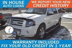 2008 Ford Expedition EL Limited 4WD - SEATS 8