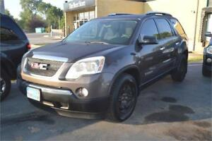 2008 GMC Acadia SLE AWD, SEATS 7, ALL WHEEL DRIVE, TOW PKG.