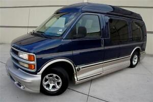 CHEVY-EXPLORER-LIMITED-SE-HI-TOP-CONVERSION-VAN-LOW-MILES-TV-VCR-WOOD-TRIM