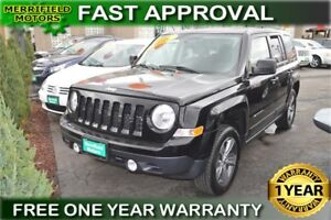 2014 Jeep Patriot Sport North 4WD - LOW PAYMENTS OF $43 a week