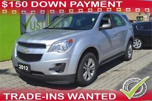 2012 Chevrolet Equinox LS - You Can Drive for $53 Weekly