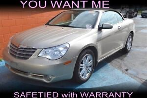 2008 Chrysler Sebring Convertible Limited, Leather Seats
