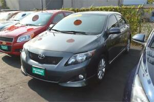 2010 Toyota Corolla AT - ONE YEAR WARRANTY INCLUDED