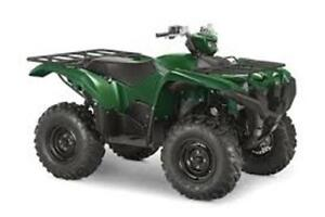 2018 Yamaha Grizzly 700EPS SE Package Deal