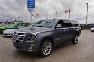 2018 Cadillac Escalade ESV Platinum NEW in satin steel metallic