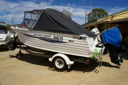 Quintrex 540 Coast Runner 2006 model 115hp 4 stroke