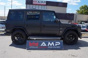 2004 Mercedes-Benz G-Class BRABUS WRAP 21''ALLOYS NAVI REAR CAM