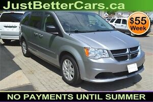 2014 Dodge Grand Caravan SXT, OWN for $55 Weekly, Let Us Finance