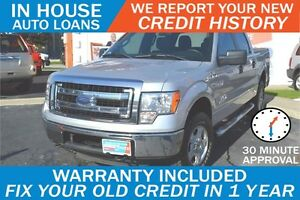 FORD F-150 XLT - APPROVED IN 30 MINUTES! - ANY CREDIT LOANS
