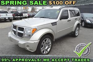 2009 Dodge Nitro SLT 4WD, HEATED SEATS, LOADED, RECENT ARRIVAL