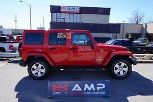 2011 Jeep Wrangler Unlimited Sahara Automatic  3.8L Soft T avail