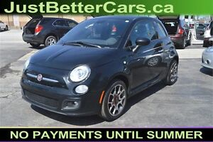 2015 Fiat 500 Sport Hatchback -- FUEL EFFICIENT -- only $30 week