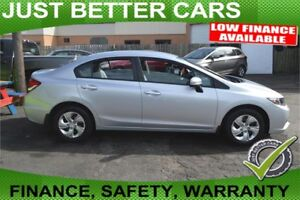 2014 Honda Civic LX, $60 per Week, FINANCE ONSITE