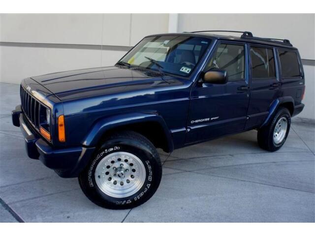 jeep cherokee sport 4x4 low miles kenwood radio american. Black Bedroom Furniture Sets. Home Design Ideas