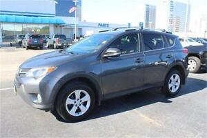 2013 Toyota RAV4 XLE-AWD-SUNROOF-REAR CAM-ONLY 55KM
