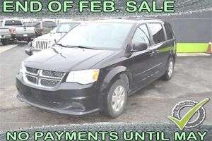 2012 Dodge Grand Caravan SE with STOW-N-GO, HANDS FREE CALLING